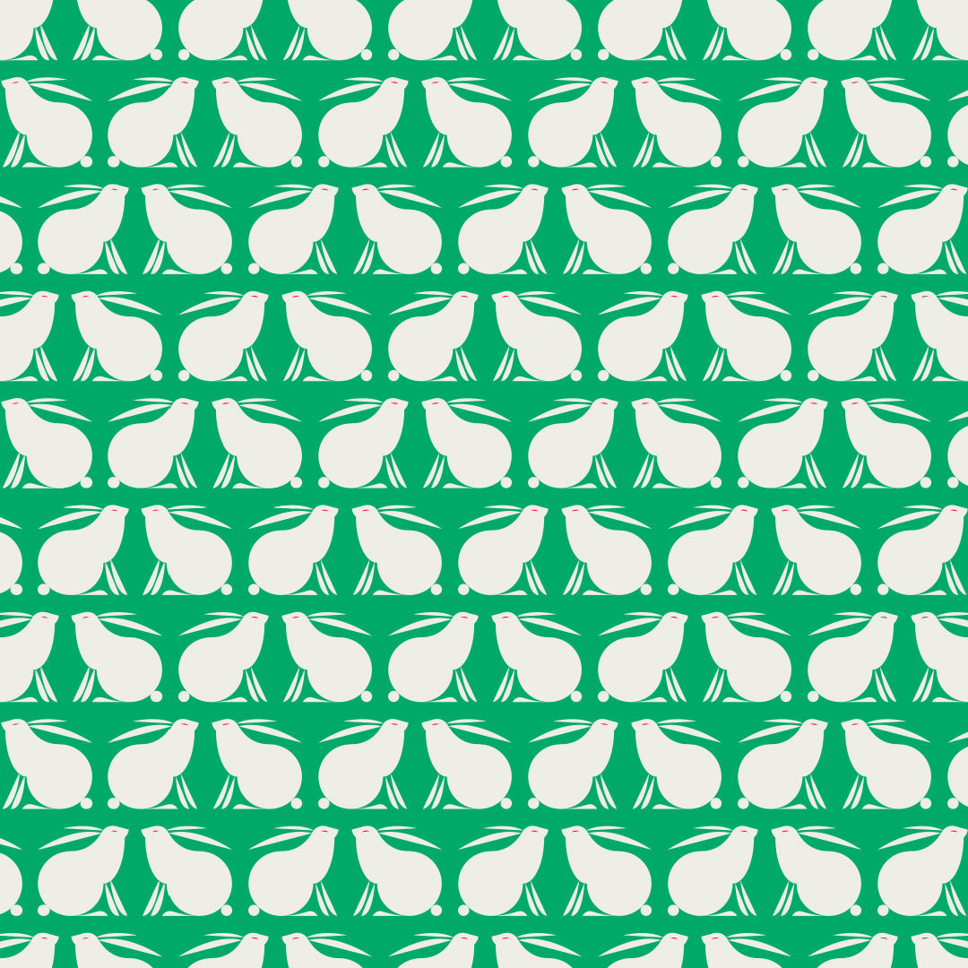 Rabbit pattern by Niels van Holland